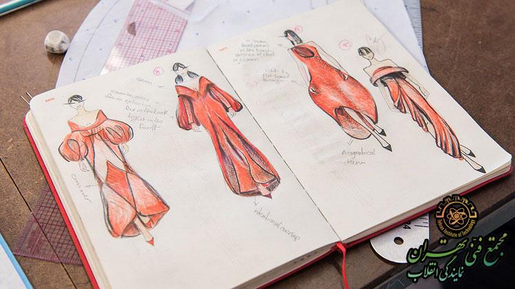 آموزش طراحی لباس مقدماتی