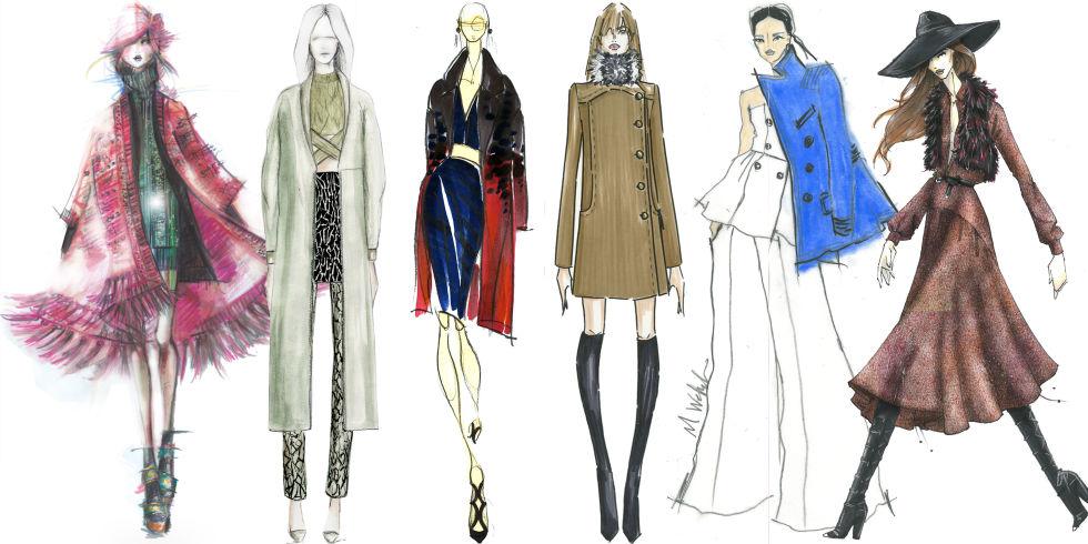 آموزش طراحی لباس حرفه ای