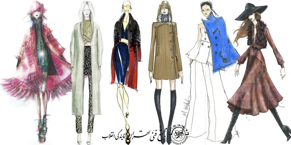 آموزش طراحی لباس پیشرفته