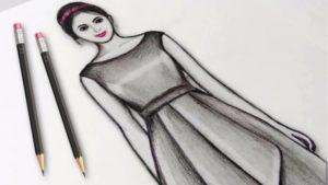 متد های آموزش طراحی لباس