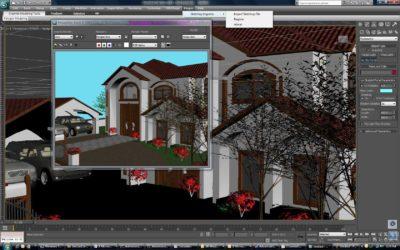 آموزش طراحی دکوراسیون با نرم افزار 3DMAX