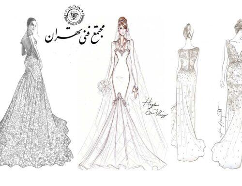 خلاقیت آموزش طراحی لباس