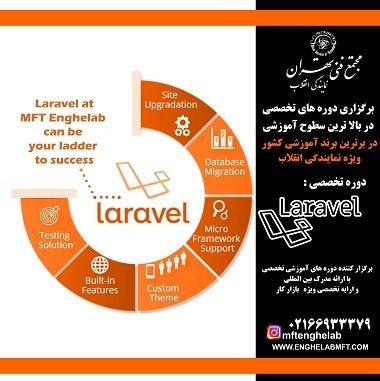 آموزش تخصصی laravel