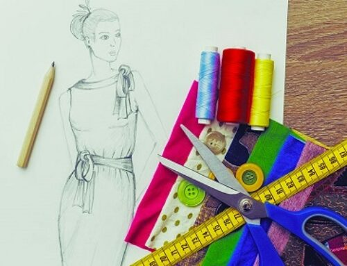 کلاس طراحی لباس