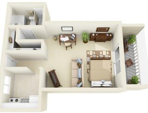 چیدمان منزل با 3d max