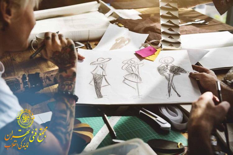 یادگیری طراحی لباس